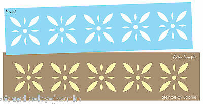 Colonial Prim Stencil Starburst Diamond Flower Folk Art Country French -