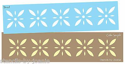 - Colonial Prim Stencil Starburst Diamond Flower Folk Art Country French Border