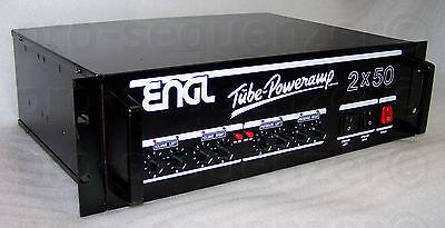 ENGL Tube Poweramp Type 920 2x50 Watt Röhrenendstufe 4xEL34 + Case+ Garantie