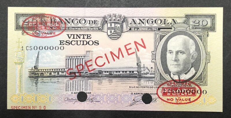 Angola Banknote Specimen P92s