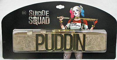OFFICIALLY LICENSED Suicide Squad Harley Quinn SHIMMERY Puddin Choker Collar