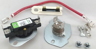 Dryer Thermal Cut Out Kit And Fuse For Whirlpool  Sears  279816 And 3392519