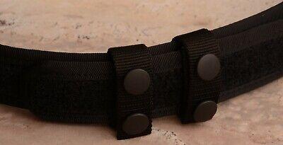 Dasta Professional Back Nylon Duty Belt Keepers Snaps 2 Cm Width