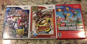 Mario Nintendo Wii Games