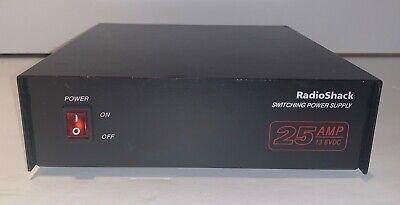 Radio Shack Switching Power Supply 25 Amp 22-510 13.8 Vdc