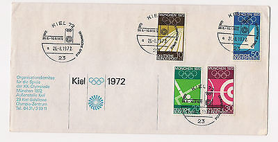 BRD - Briefmarken - FDC - 1969 - Mi.Nr. 587-590