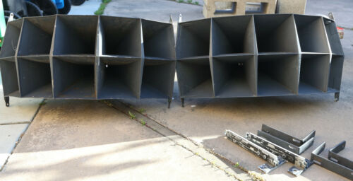 Altec Lansing 1005 horns with 30210 throats and brackets