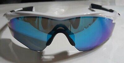 Oakley M2 M Frame Shield Sunglasses - Polished White/Prizm Sapphire