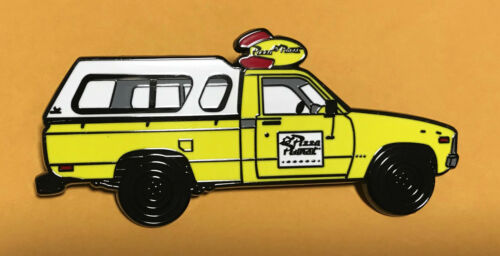 """PIN PIZZA PLANET TRUCK 3"""" JUMBO FANTASY from Pixar Toy Story Movie"""