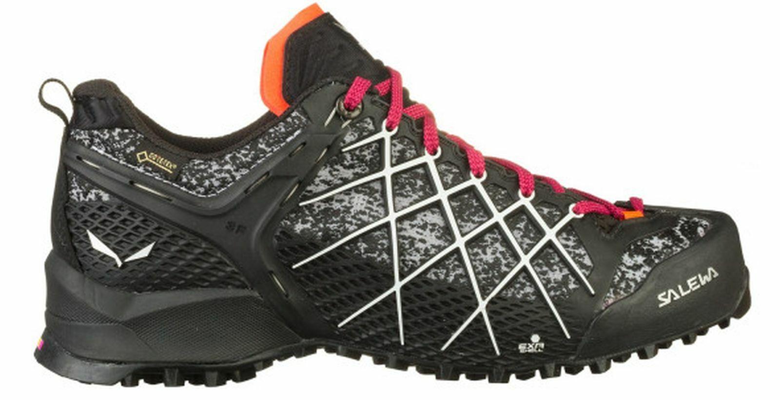 Salewa Damen-Wander-Outdoor-Multisport-Schuhe WS Wildfire GORE-TEX® schwarz
