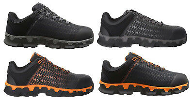 - Timberland PRO Men's Powertrain Sport Alloy Safety Toe ESD Work Shoes Boots NEW