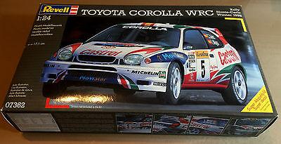 REVELL 07362 TOYOTA COROLLA WRC MONTECARLO 1998 1/24 PLASTIC KIT NUOVO