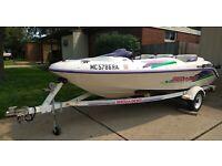 1995 Sea Doo Speedster 15' Jet Boat & Trailer - Michigan