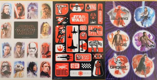 Home Decoration - Star Wars Stickers 3 Sheets Free Ship Sale