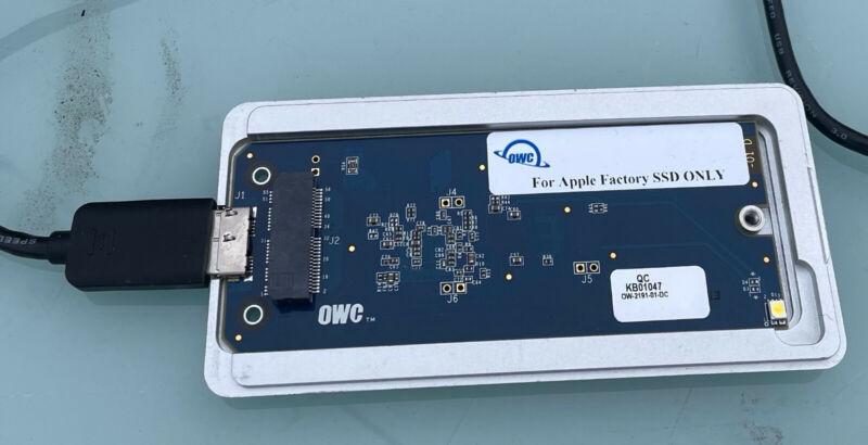 OWC Envoy Pro USB 3.0 Apple Flash SSD Enclosure (2013-2015 Macs) *READ*