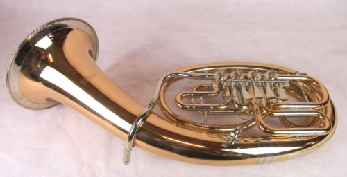 B-Baritone Cerveny 736-4R IN B Gold Brass Varnished