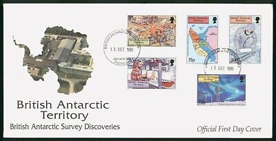 Mayfairstamps British Antarctic Territory 1999 Survey Discoveries First Day Cove