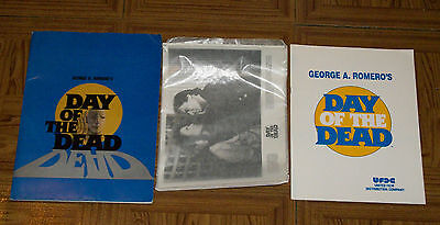 original DAY OF THE DEAD PRESS KIT George A. Romero