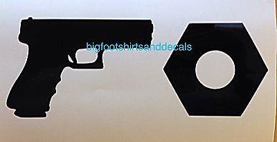 Gun Nut Car Decal Truck Motorcycle Gun Safe Locker AR15 AK47 9mm Window Sticker