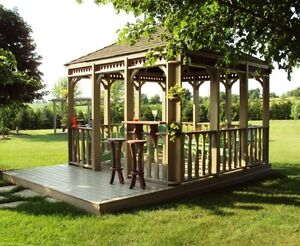 Country Square Gazebo Kit