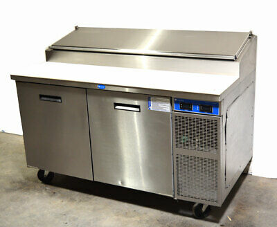 Randell 8260n-290 60 Raised-rail Refrigerated Prep Table Pizza Sandwich R290