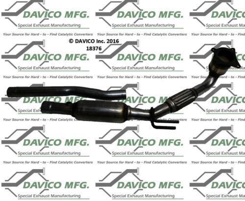 Catalytic Converter-Exact-Fit Davico Exc CA 18376 fits 06-08 VW Passat 2.0L-L4