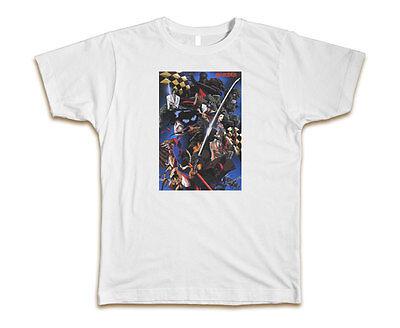 White Ninja (Ninja Scroll Custom Mens T-Shirt Tee S-3XL)