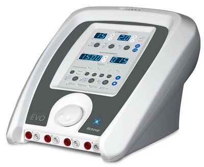 Richmar Winner Evo Cm4 Combo Ultrasound 4-channel Electrotherapy Unit 410-012