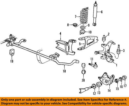 Details About FORD OEM 92 95 F 150 Front Suspension Lower Ball Joint F6TZ3050AB