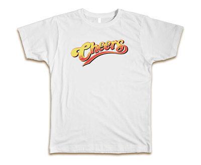 Cheers Custom Mens T Shirt Tee S 3Xl New White