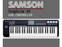 Samson Graphite 49 - USB MIDI Controller Keyboard