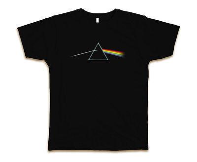Pink Floyd Darkside Custom Mens Fashion T-Shirt Tee S-3XL New-Black