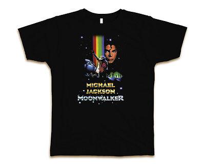 Michael Jackson Moonwalker Custom Mens Fashion T-Shirt Tee S-3XL - Michael Jackson Custome