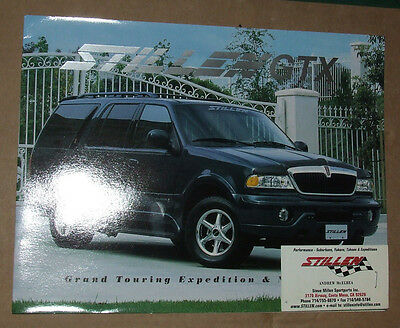 STILLEN GTX Expedition/Navigator Dealer  Catalog USA 1998 Edition RARE