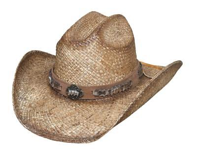 NEW Bullhide Hats 2832 Horse Country Collection Cold Blooded Natural Cowboy Hat - Country Cowboy Hats