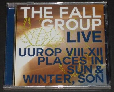 The Fall Group Live Uurop Viii Xii Places In Sun Uk Cd 2014 New Mark E Smith