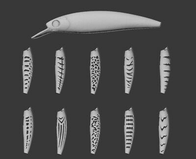 shuaishuang573 Peces Jerkbait Durable Gancho de Plomo port/átiles se/ñuelos de Pesca Peces de Cebo universales