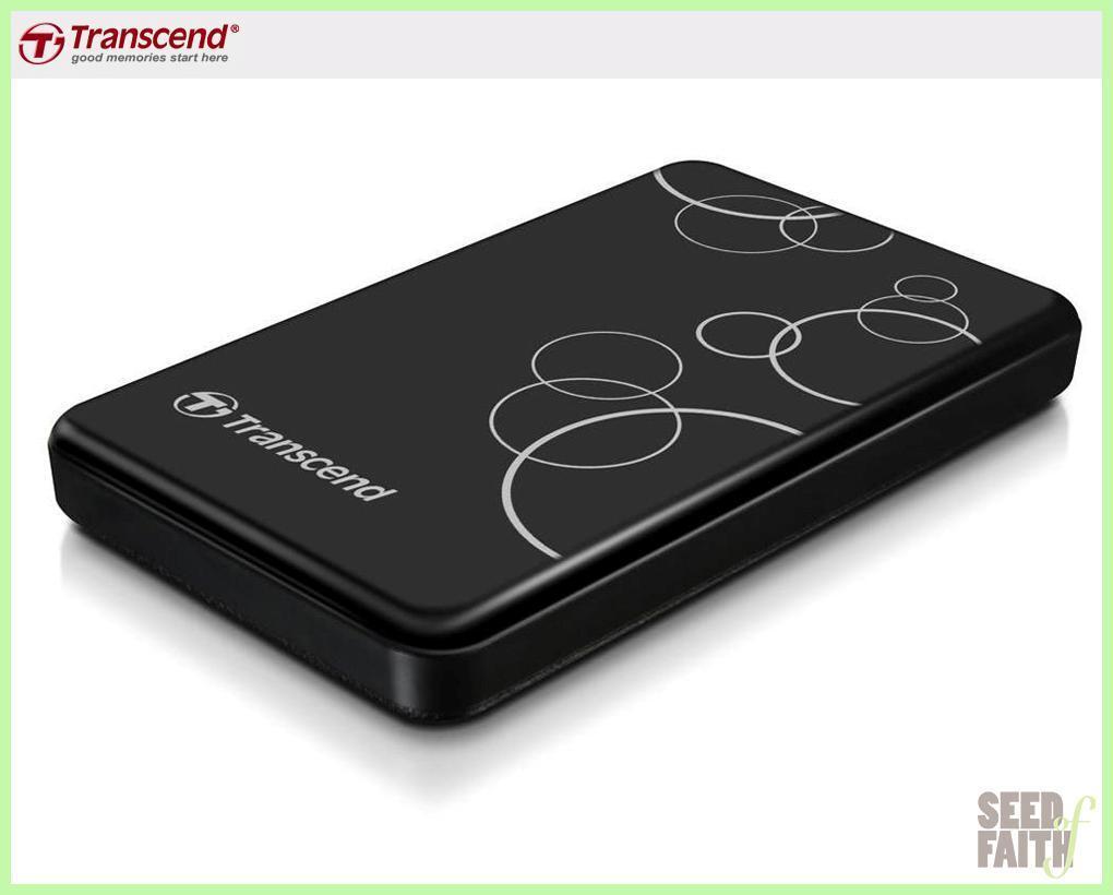 Transcend Storejet Store Jet 25a3 2 5 Portable Hard Drive Usb 3 0 Hardisk Eksternal 1 Tb 25h30 1tb Black