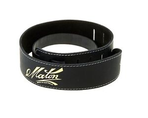 Maton leather guitar strap - brand new, never used Richmond Hawkesbury Area Preview