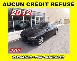 2012 BMW 320I **Navigation,Toit ouvrant,Cuir**