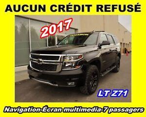 2017 Chevrolet Tahoe LT Z71 MINUIT**SEULEMENT 1822KM**7 PASSAGER