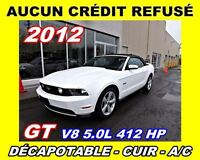 2012 Ford Mustang GT*DÉCAPOTABLE*