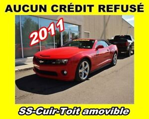 2011 Chevrolet Camaro **2SS**Red Peformance**Convertible Cuir
