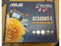 2 x Asus AT5IONT-I Mini ITX Motherboard, Intel Atom D525 + 4GB DDR3 RAM