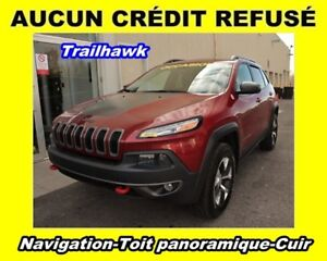 2014 Jeep Cherokee NAVIGATION CUIR TOIT PANORAMIQUE*TRAILHAWK*