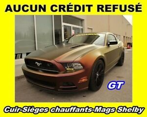 2013 Ford Mustang CUIR SIÈGES CHAUFFANTS MAGS SHELBY *GT*