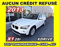 2013 BMW X1 XDRIVE*toit panoramique,cuir*