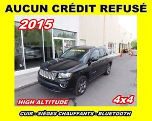 2015 Jeep Compass HIGH ALTITUDE * 4X4 * AUTOMATIQUE *