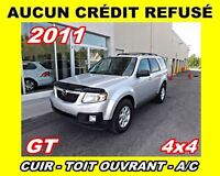 2011 Mazda Tribute GT V6 AWD*cuir toit ouvrant,a/c