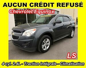 2011 Chevrolet Equinox LS **TRACTION INTÉGRALE**